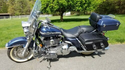 2003 Harley-Davidson FLHRC - Road King Classic 100th Anniversary Blue for sale craigslist