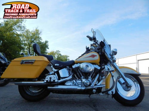 2003 Harley-Davidson FLSTC - Heritage Softail® Classic -- White for sale craigslist