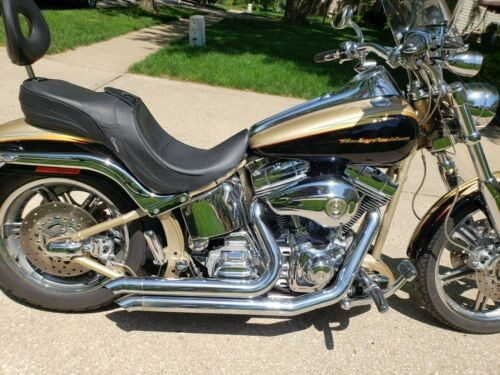 2003 Harley-Davidson FSXTDSE Softail Deuce CVO gold for sale craigslist