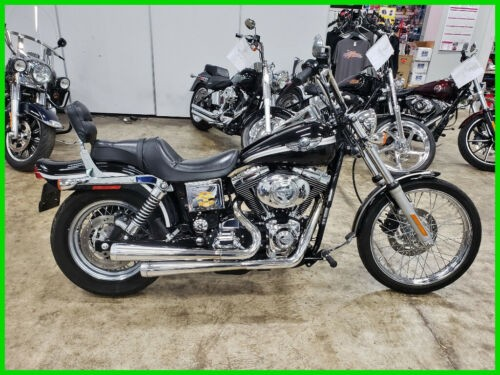 2003 Harley-Davidson FXDWG Dyna Wide Glide Vivid Black for sale craigslist