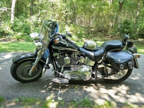2003 Harley-Davidson Fatboy Black for sale craigslist