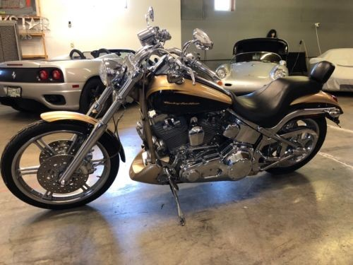 2003 Harley-Davidson Screaming Eagle Softail Deuce Anniversary Edition Gold for sale