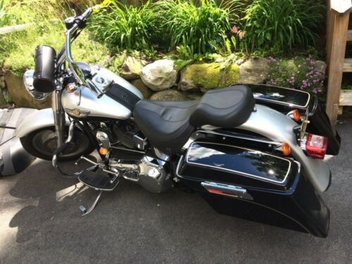 2003 Harley-Davidson Softail Silver/Black for sale craigslist