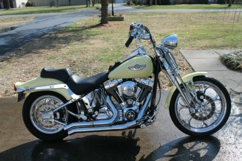 2003 Harley-Davidson Softail Yellow for sale