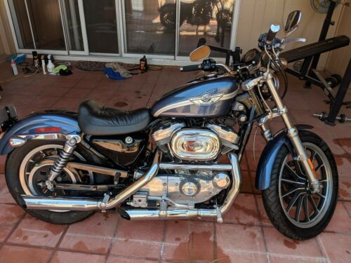 2003 Harley-Davidson Sportster Blue for sale craigslist