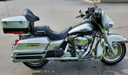2003 Harley-Davidson Touring Aniversary Silver and Black for sale craigslist
