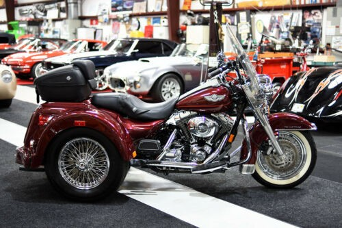 2003 Harley-Davidson Touring Red for sale craigslist