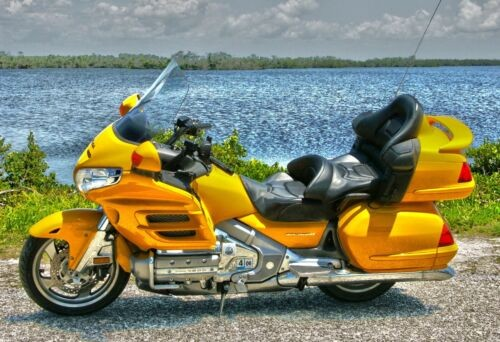 2003 Honda Gold Wing Yellow for sale craigslist