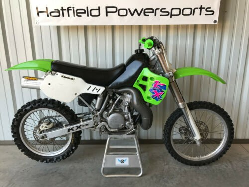 2003 Kawasaki KX Green for sale craigslist