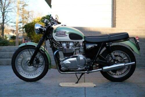 2003 Triumph Bonneville Mist Green for sale craigslist