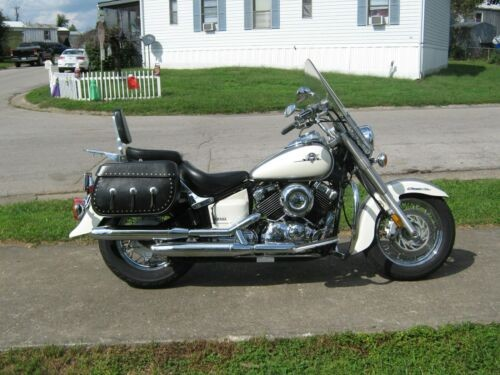 2003 Yamaha V Star White for sale craigslist