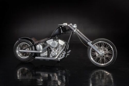 2004 Custom Built Motorcycles Chopper Black for sale craigslist