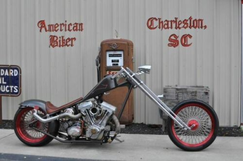 2004 Custom Built Motorcycles Chopper Grey with Pinstriping for sale craigslist