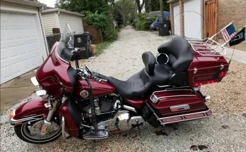 2004 Harley-Davidson Classic Red for sale
