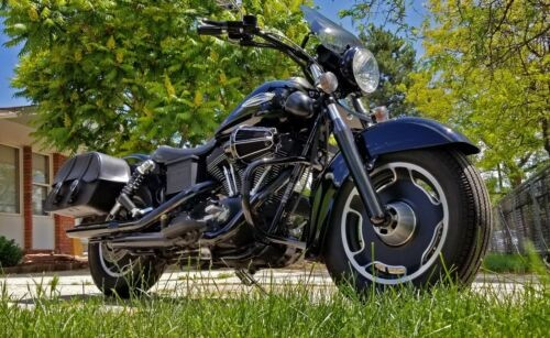 2004 Harley-Davidson Dyna Black for sale craigslist