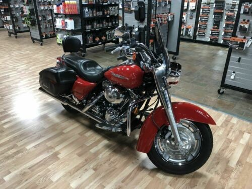 2004 Harley-Davidson FLHRSI - Road King Custom -Custom- Red for sale craigslist