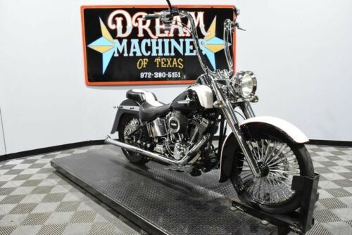 2004 Harley-Davidson FLSTFI - Softail Fat Boy -- White for sale