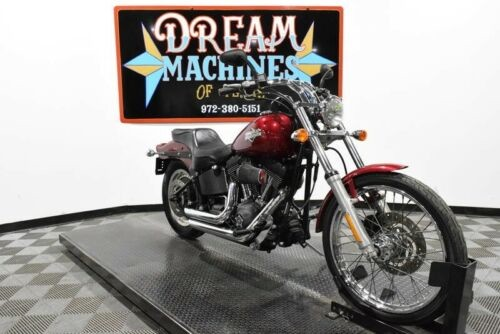 2004 Harley-Davidson FXSTB - Night Train Managers Special -- Red for sale
