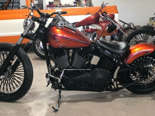 2004 Harley-Davidson Softail Candy Tangerine for sale craigslist