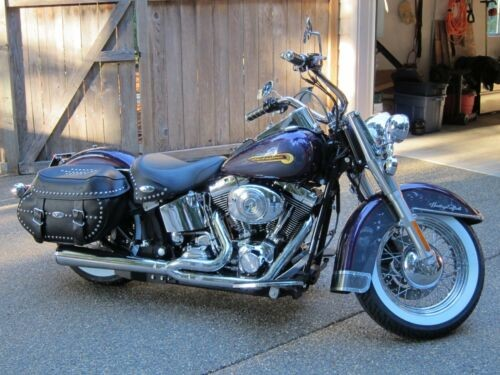 2004 Harley-Davidson Softail Harley custom purple/grey for sale craigslist