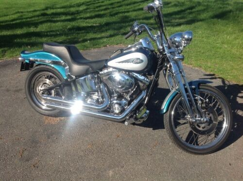 2004 Harley-Davidson Softail Teal for sale