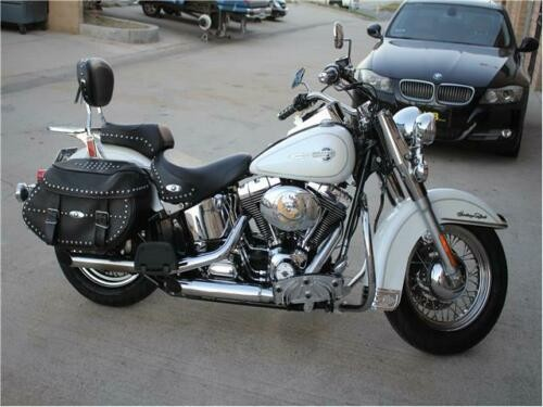 2004 Harley-Davidson Softail Heritage White for sale