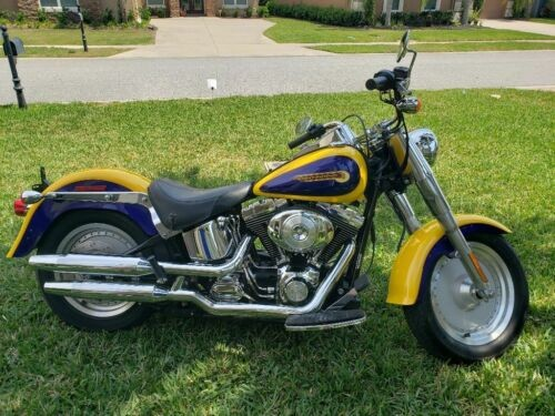 2004 Harley-Davidson Softail Yellow for sale craigslist