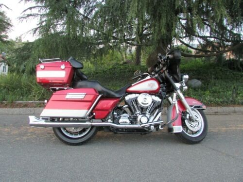 2004 Harley-Davidson Touring RED SILVER for sale craigslist