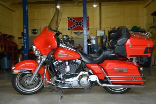 2004 Harley-Davidson Touring Red for sale craigslist