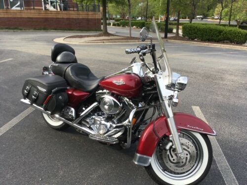 2004 Harley-Davidson Touring Red for sale