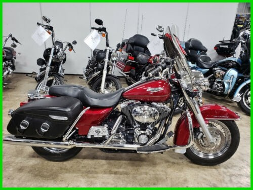 2004 Harley-Davidson Touring Sierra Red for sale craigslist