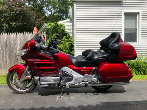 2004 Honda GL1800A Red for sale