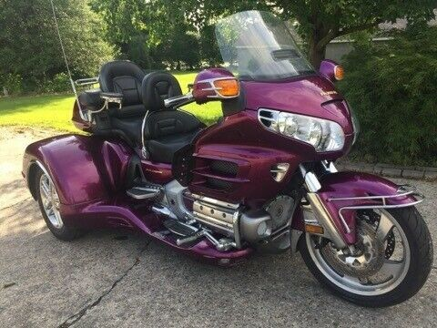 2004 Honda Gold Wing Purple for sale
