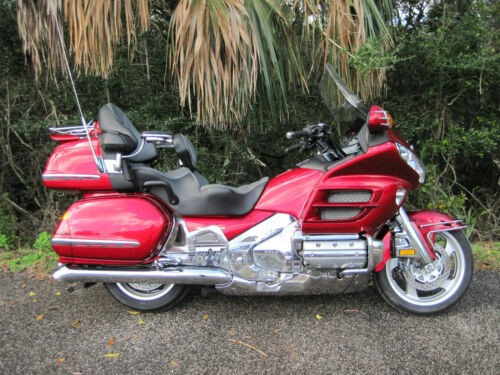 2004 Honda Gold Wing Red for sale craigslist