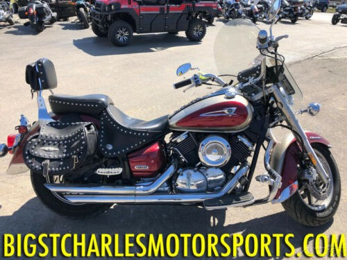 2004 Yamaha V Star Classic Silver/Red for sale