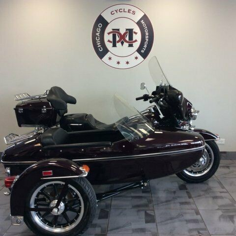 2005 Harley-Davidson FLHTI HARLEY SIDE CAR -- MAROON for sale