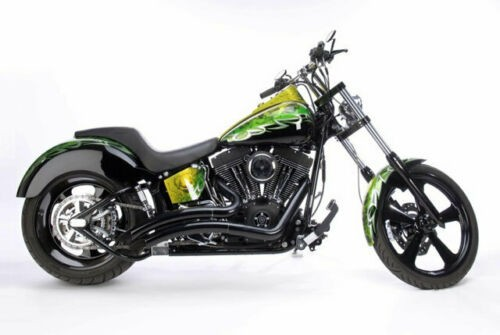 2005 Harley-Davidson FXSTBI Green for sale