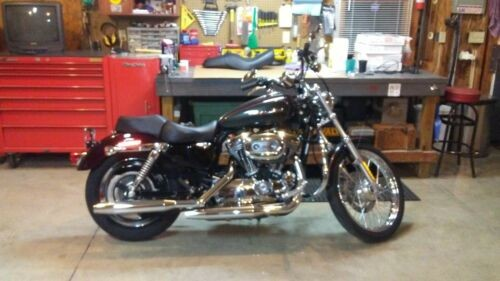 2005 Harley-Davidson SPORTSTER BLACK CHERRY with dark grey 2 tone for sale