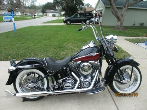 2005 Harley-Davidson Softail Black/Red Pearl craigslist