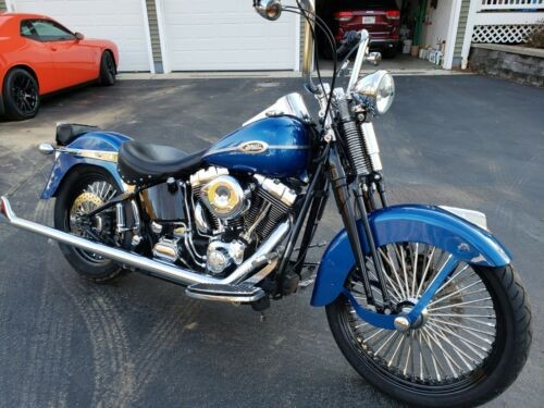 2005 Harley-Davidson Softail Blue for sale