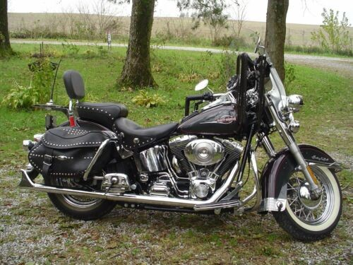 2005 Harley-Davidson Softail -- Burgundy/Gray for sale craigslist