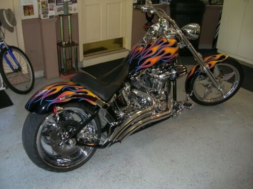 2005 Harley-Davidson Softail CUSTOM OLD SCHOOL FLAMES for sale