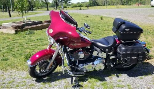 2005 Harley-Davidson Softail Red for sale