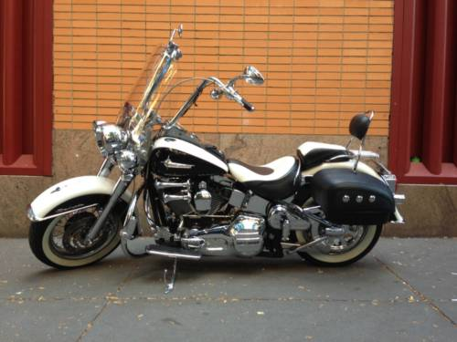 2005 Harley-Davidson Softail White and black for sale craigslist