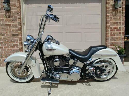 2005 Harley-Davidson Softail White for sale
