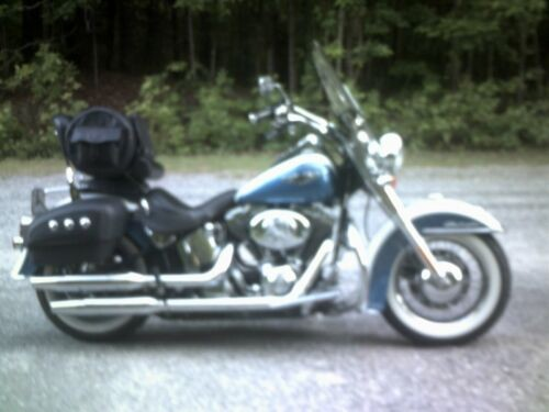 2005 Harley-Davidson Softail blue and white craigslist