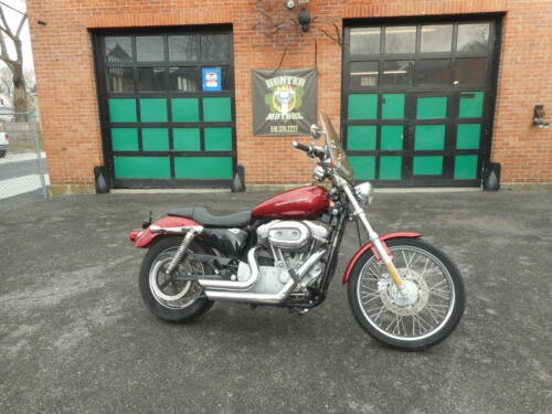 2005 Harley-Davidson Sportster Burgundy for sale