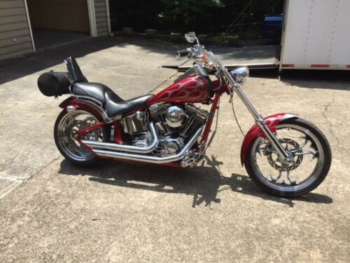 2005 Harley-Davidson Thunder Mountain Custom Burgundy craigslist
