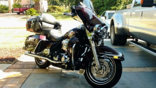 2005 Harley-Davidson Touring BLACK CHERRY PEARL for sale