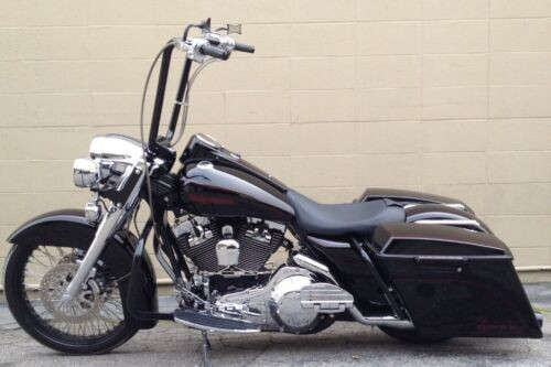 2005 Harley-Davidson Touring Brandywine candy with black base, and metal flakes. for sale